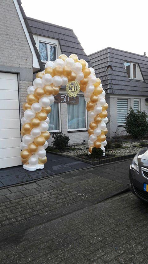 Boog van ballonnen
