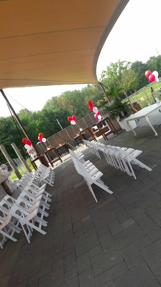 Bruiloft ballonnenaankleding