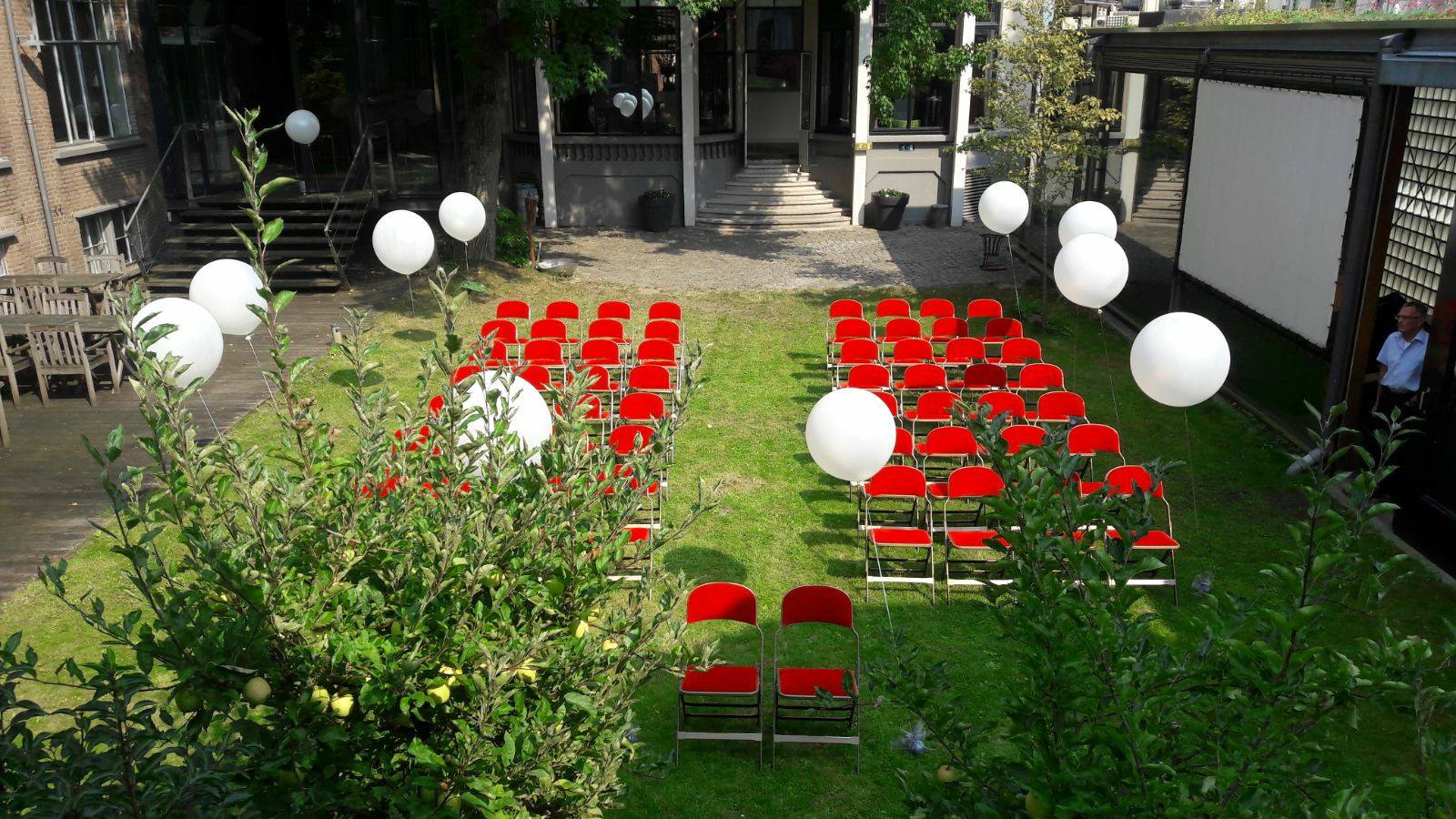Bruiloften ballon