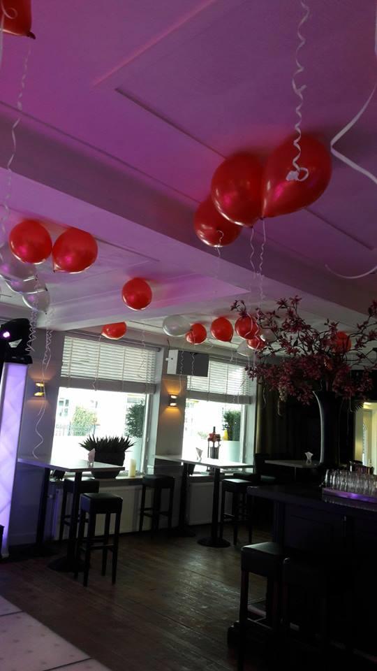 Disco helium ballonnen