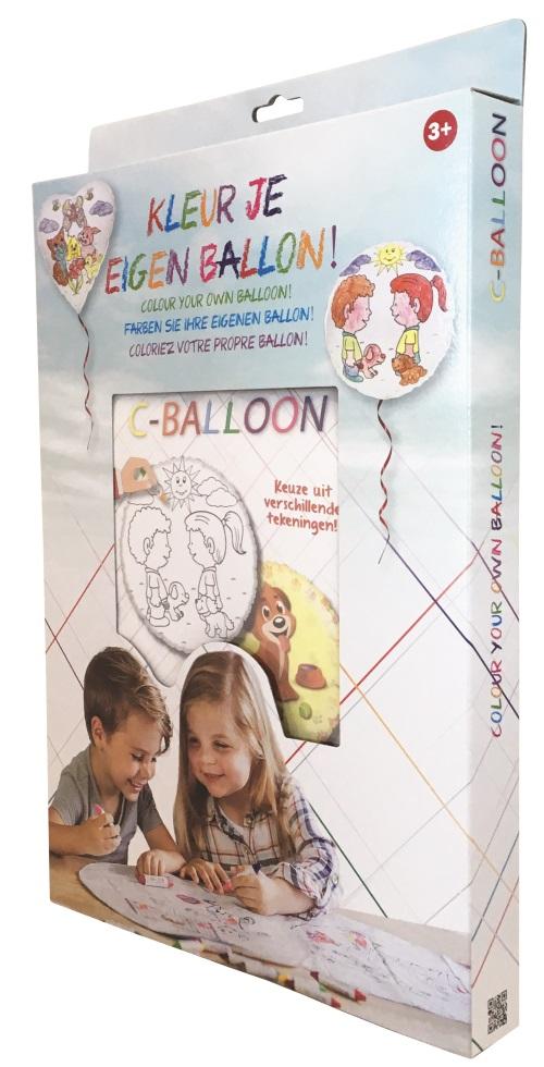 Kleur je eigen ballon