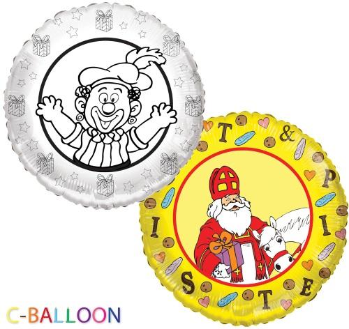 Sint en piet ballon