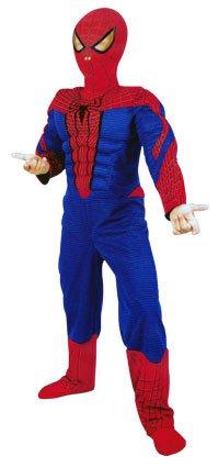 Spiderman kostuum jongens maat 7-8 jaar