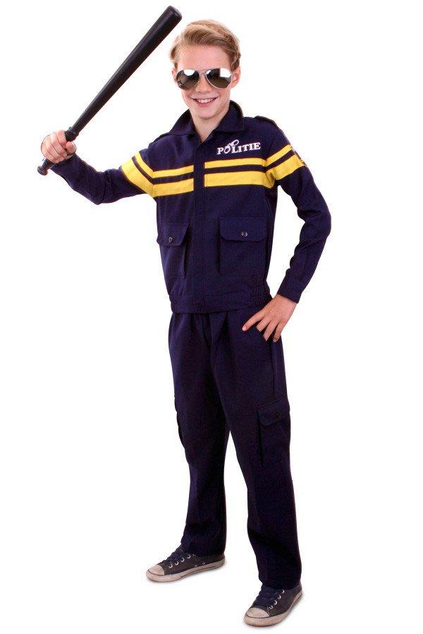 Politie kostuum jongens