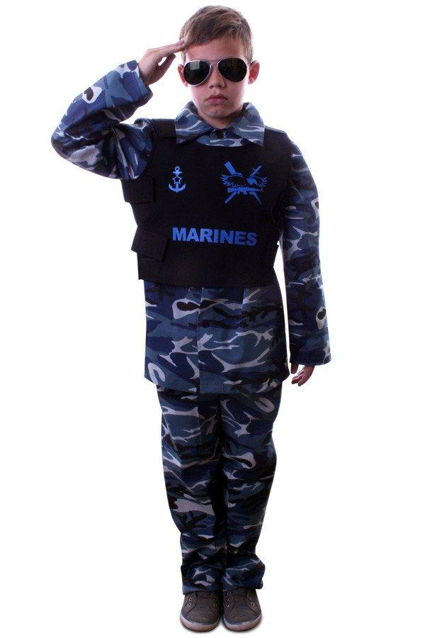 Marine camouflage kostuum jongens