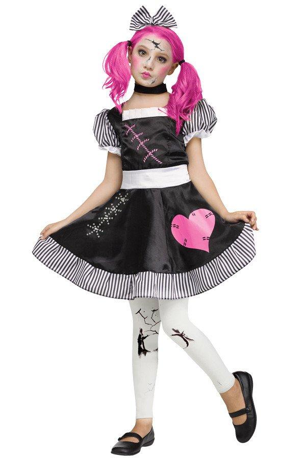 Gebroken porseleinen popje meisjes