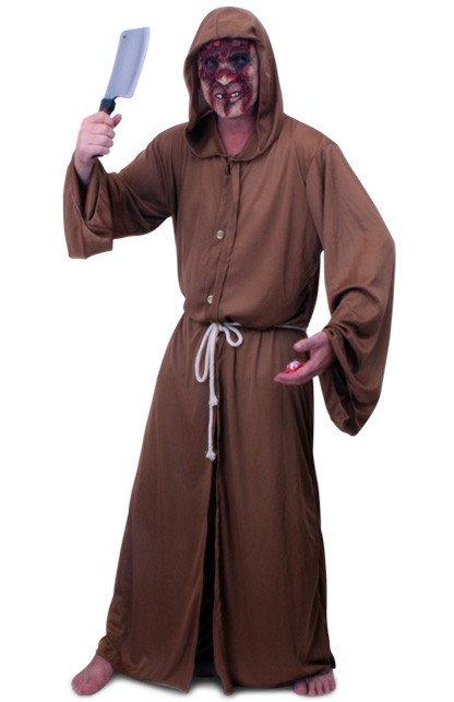 Horror monnik kostuum unisex one size