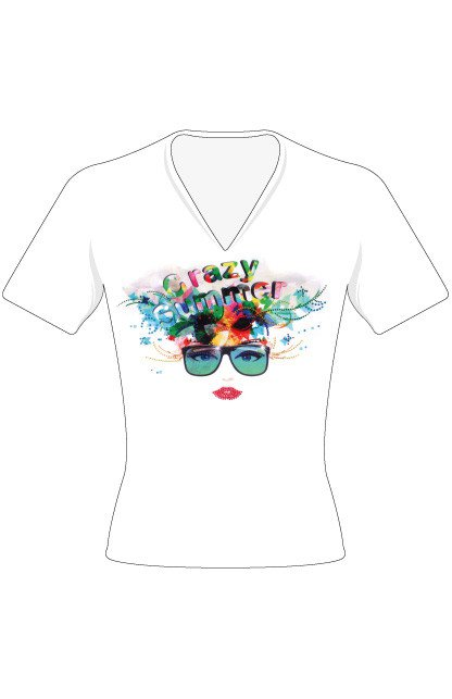 T-shirt zonnebril