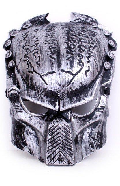 Masker predator zilver