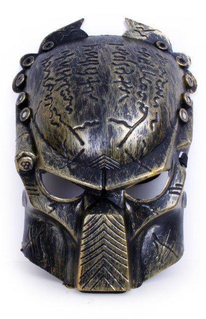 Masker predator goud