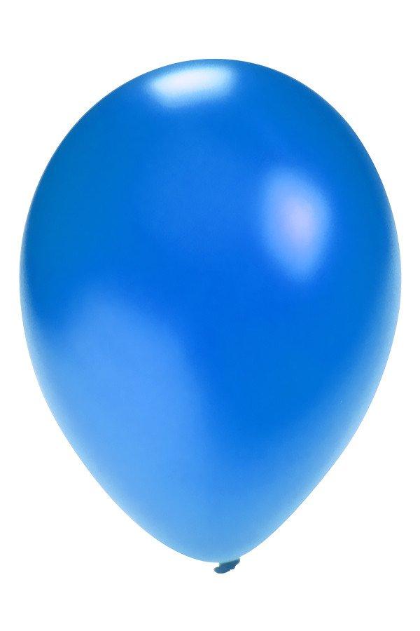 Ballonnen 12 inch per 8 BLAUW