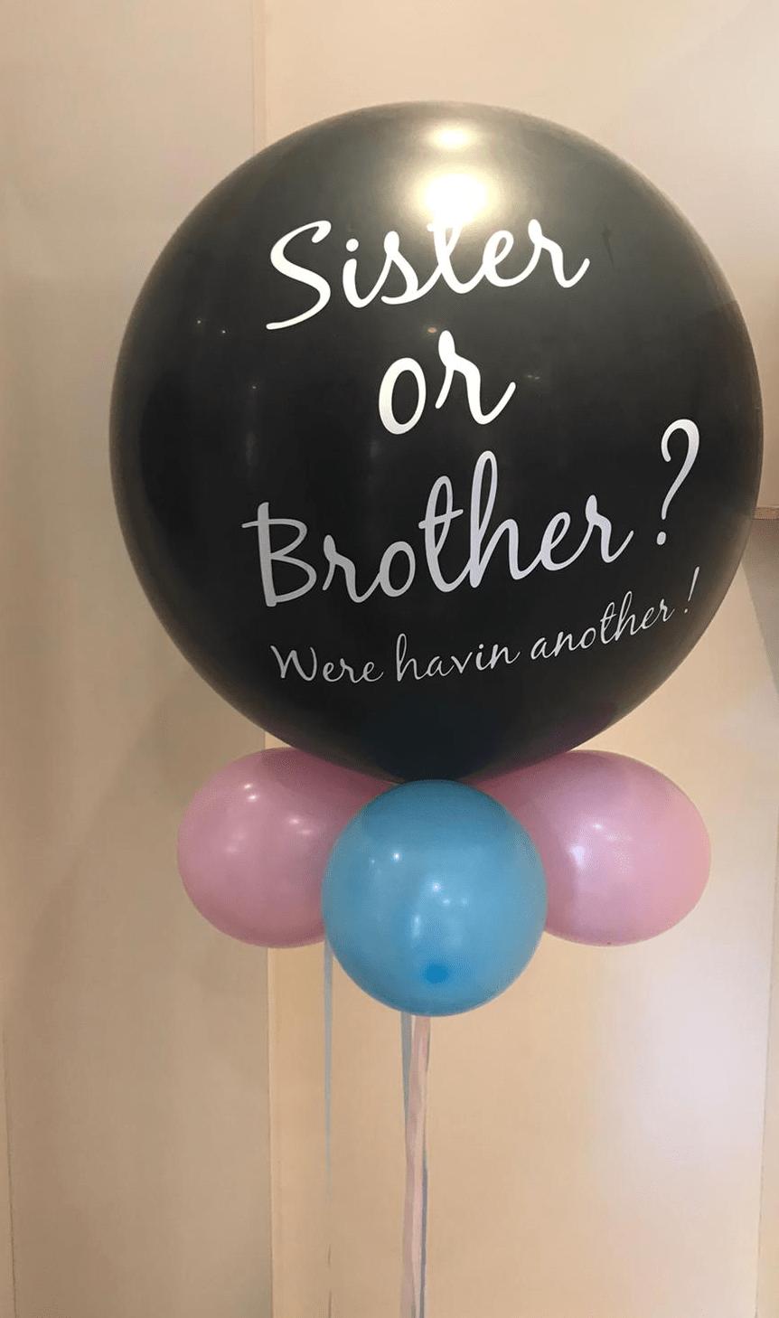 Reveal ballon