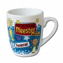 Cartoonmok Meester