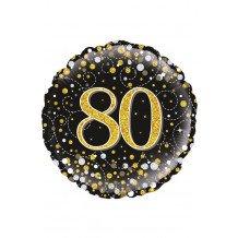 Folie-ballon 18 inch 45.7 cm Sparkling 80Holograpic