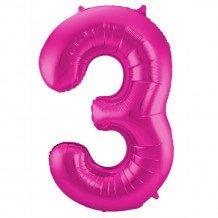 ballon in de vorm van cijfer