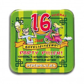 Pocket Tin - 16 jaar