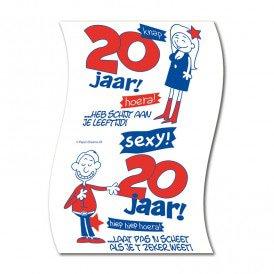 Toiletpapier 20 jaar