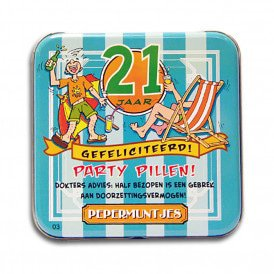 Pocket Tin - 21 jaar