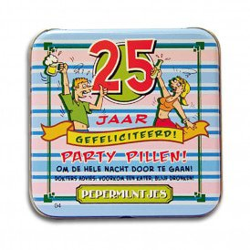 Pocket Tin - 25 jaar