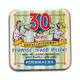 Pocket Tin - 30 jaar