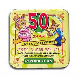 50 jaar man abraham