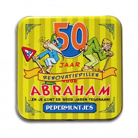 Pocket Tin - Abraham