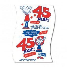 Toiletpapier 45 jaar