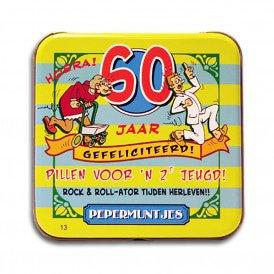 Pocket Tin - 60 jaar vrouw