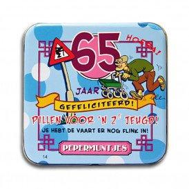 Pocket Tin - 65 jaar man