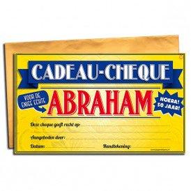 Gift Cheque abraham