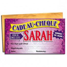 Sarah gift card