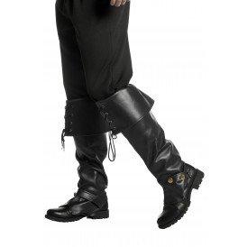 Musketier laarzen, zwart