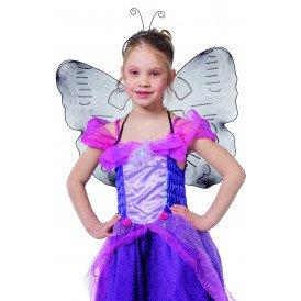 Vlindervleugels kinderen, blauw