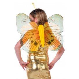 Vlindervleugels kinderen, geel