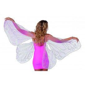 Vleugels slap roze