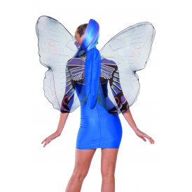 Vlindervleugels volwassenen, blauw