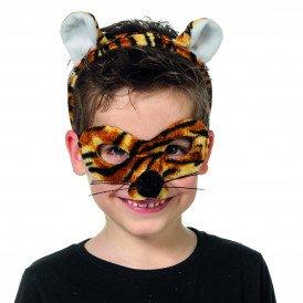 Dierenmasker (met tiara), tijger