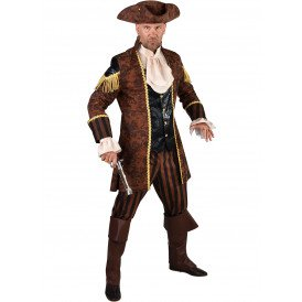 Piraat zwart-bruin