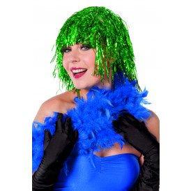 Lametta pruik, groen