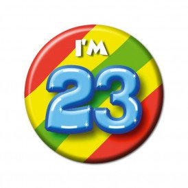 button 23 jaar