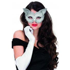Masker (bril), kat zilver