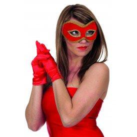 Masker fluweel uni (bril)