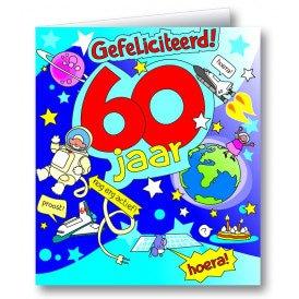 Wenskaart 60 jaar