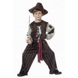 Piraat met geraamte