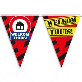 Party Vlaggen - welkom thuis
