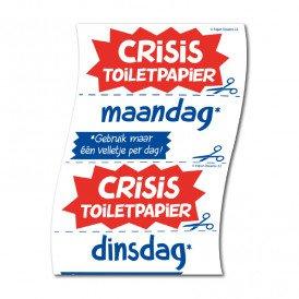 toiletpapier crisis