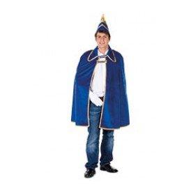 Prinsencape fluweel, blauw