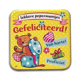 Pocket Tin - gefeliciteerd