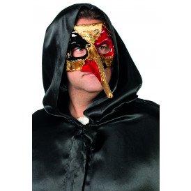 Venetiaanse masker lange neus, gouden neus