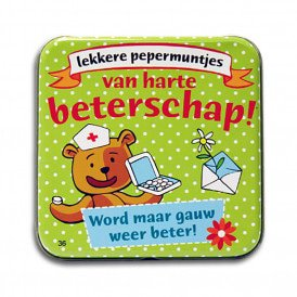 Pocket Tin - beterschap